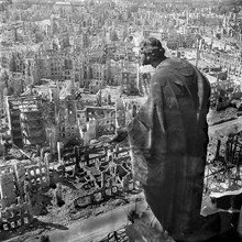 The Ruins Of Dresden 1945